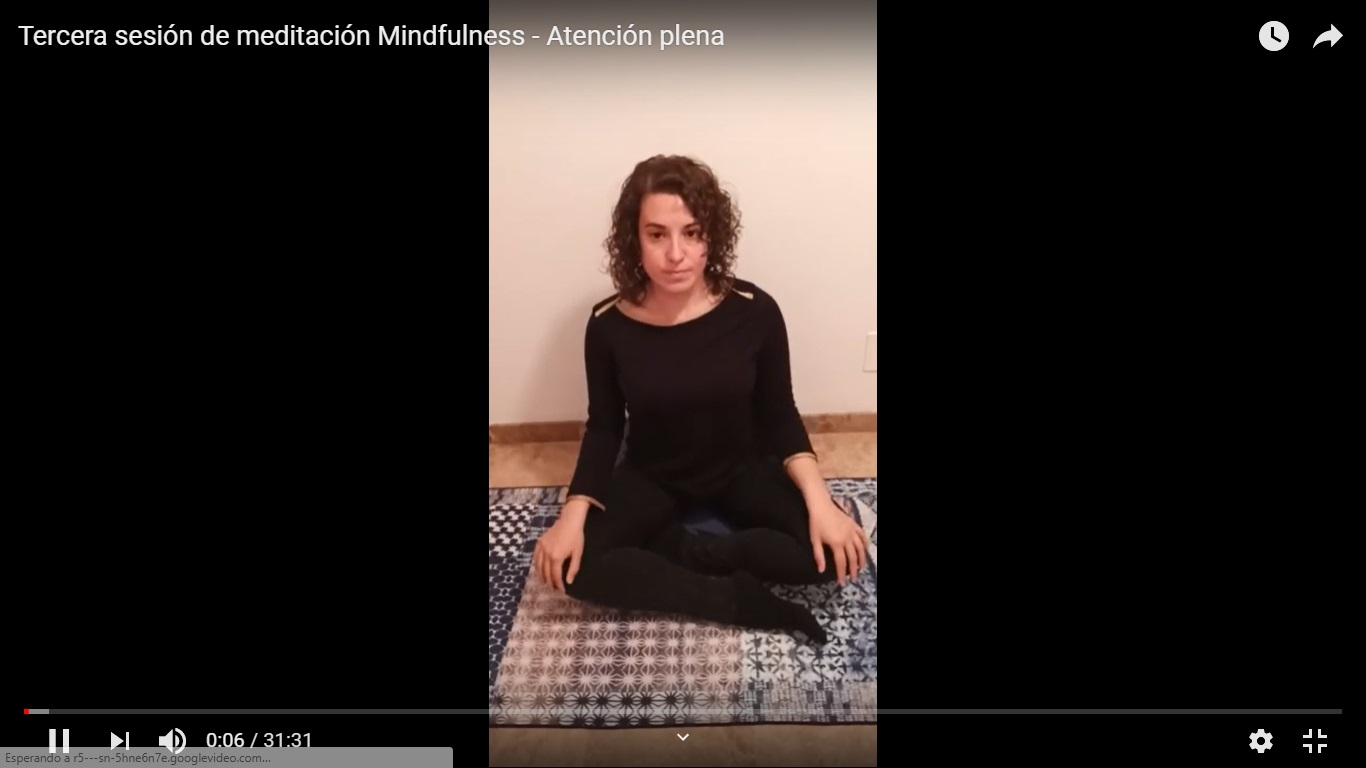 Tercera Sessió Mindfulness – Atenció plena