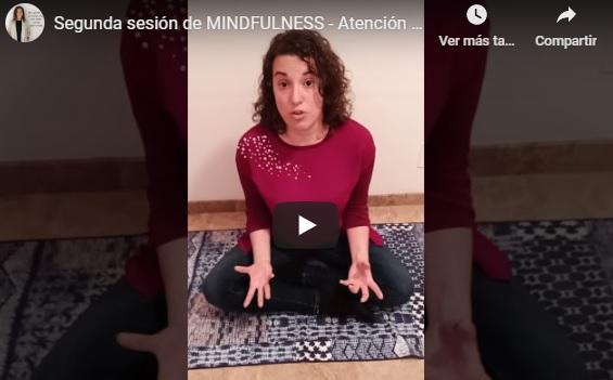 Segunda sesión de Mindfulness – Atención Plena